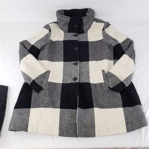 Joe Fresh wool blend spring/fall coat jacket